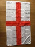 Large England St George Cross Flag 5ft x 3ft Football Rugby 6 Nations Pubs